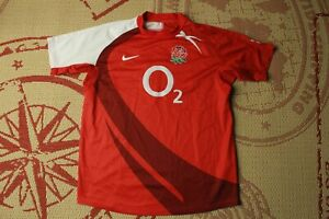 ENGLAND NATIONAL TEAM 2007 2008 RUGBY JERSEY SHIRT MAGLIA NIKE ORIGINAL SIZE M