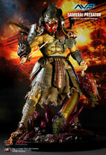 "(中) HOT TOYS 1/6 AVP ALIEN VS. PREDATOR AC01 SAMURAI PREDATOR 14"" ACTION FIGURE"