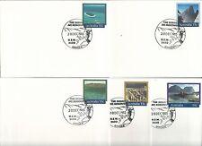 1985 Mt Kosciusko Special Postmark on 5 Covers 20 Dec Pictor Marks Pms 82 (1)