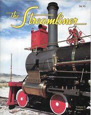 The Streamliner V8 N1 UP Promontory, Utah Engine 119 Rock Island Snow Laramie