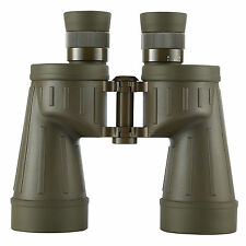 Military 7x50mm Binoculars Waterproof Rangefinder Army Green Rubber Armored New