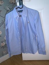 Ralph Lauren Blue Oxford Shirt Super Slim Fit Size 8
