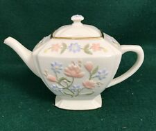 LENOX China ~ WILDFLOWER TEAPOT ~ Displayed only