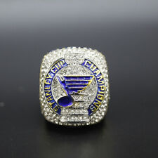 Hockey Championship Ring St Louis Blues 2019 Championship Ring Replica with Box