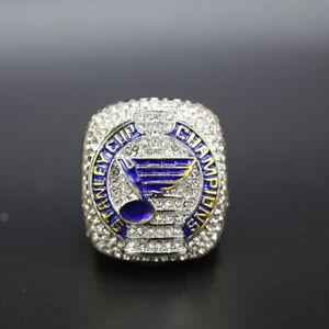 Hockey Championship Ring St Louis Blues 2019 Championship Ring with Box
