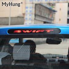 Rear Brake Stop Lights Lamp Cover Carbon  Hollow Fiber Sticker For Suzuki Swift