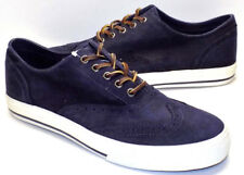 RALPH LAUREN POLO Vulten Oiled Navy Blue Suede Oxfords Mens US Shoe Size 10D NEW