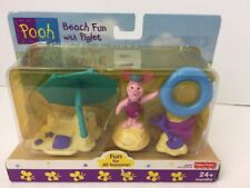 Fisher Price Fun for all Seasons Beach Fun with Piglet Figure Set