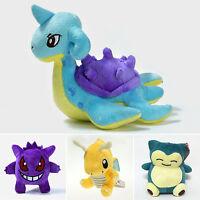 Japanese Pokemon Anime Pocket Monster Soft Stuffed Plush Toy Kids Xmas Gift Doll