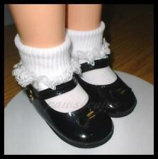 SAVE 10/% on 2 pair Patent 3-3//4 x 1-5//8 inch Doll Bow SHOES fit CHARMIN CHATTY