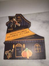 Williams Sonoma Haunted Halloween 3D Cookie Cutters House Pumpkin Cat Witch WB