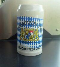 OKTOBERFEST OKC 1L Beer Mug STEIN GERMANY RASTAL