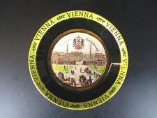 Wien Schloss Schönbrunn Teller gold platiert 11,5cm,Souvenir Austria Österreich
