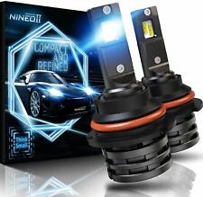 10000LM NINEO CREE 9007 HB5 LED Headlights Bulbs High Low Beam Conversion Kit