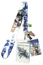 **Legit** Sword Art Online Kirito Asuna Key Art Badge ID Holder Lanyard #37746