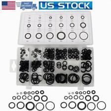 Universal Rubber O-Ring Assortment Set Gasket Hydraulic Automotive Seal Kit US