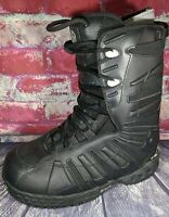 SIMS RAIDER TEE Snowboard Boots US WOMENS 9 MENS 8 BLACK ALL MOUNTAIN PIPE PARK
