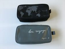 HIS HERS cathay pacific AMENITY KIT wash bag travel agnes b sock eye mask comb