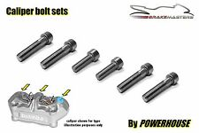 DUCATI MONSTER s4rs Stainless Joint Bolt Set Brembo pinze freno anteriore radiale