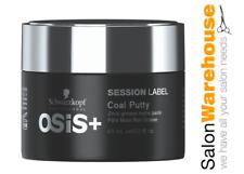 Schwarzkopf Osis+ Session Label Coal Putty 65ml x 1