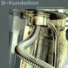 D-Fundation - Suspicious Technology PSY-TRANCE CD NEU OVP