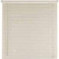 "Home Impressions 1"" Horizontal Mini Blinds, Alabaster, 43"" x 64"", FREE SHIPPING"
