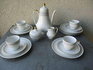 Kaffeeservice - Scherzer- für 4 Personen  70er Jahre