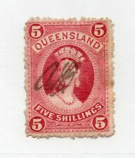 Queensland - Sg# 159 Used (lt crease) / thick paper/ wmk 10 - Lot 0720189
