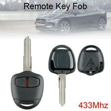 433Mhz Car Remote Key Fob ID46 Blade Fit for MITSUBISHI-Outlander Pajero Montero