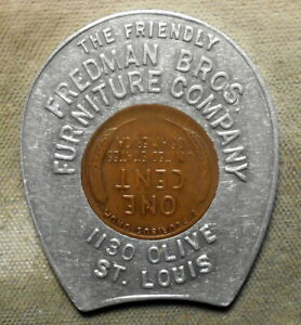 St. Louis (MO), The Friendly Friedman Bros. Furniture Company, Encased 1937P 1c