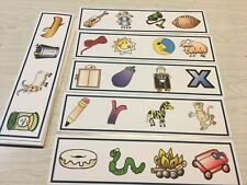 The Same Sounds - 21 Activity Strip Cards - Laminated Cards