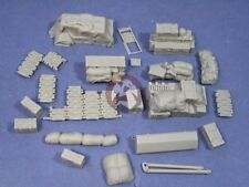 Resicast 1/35 British Sherman Tank Accessories #3 (enough for 2 vehicles) 352292