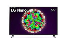 """SMART TV LG NANOCELL 55"""" 4K  UHD LED 55NANO803NA DVBT2/S2 Televisore Nero HDMI"""