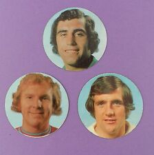 Esso Top Team Collection 1973/74  Coins - Bobby Moore, Shilton, Hunter