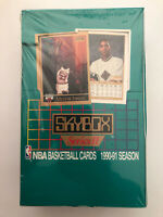 1990-91 SKYBOX SERIES 2 BASKETBALL CARDS UNOPENED PLASTIC STILL ON