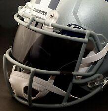 *CUSTOM* DALLAS COWBOYS NFL OAKLEY Football Helmet EYE SHIELD / VISOR