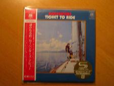 "CARPENTERS ""Ticket To Ride"" + bonus Sleeve   Japan mini LP SHM CD"