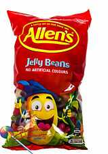 Allen's - Jelly Beans -1kg - Mixed Jelly Lollies, Allens Sweets Postage Included