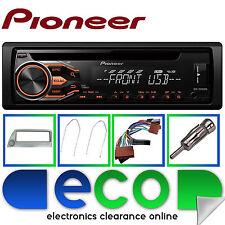FORD KA Pioneer CD MP3 USB Lettore Stereo Auto Rosso e Argento Fascia KIT DI MONTAGGIO