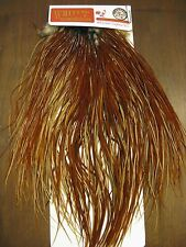 Fly Tying Whiting Bronze Rooster Midge Saddle Brown #B