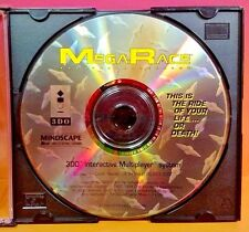 MegaRace (Panasonic 3DO, 1994)  Rare Game Racing Mega Race