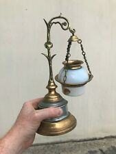 Antique Victorian French Style Candle Holder Bedside / Table Light