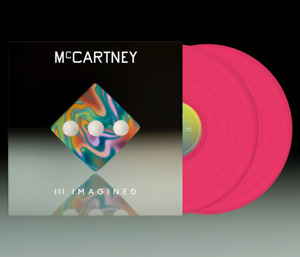 Paul McCartney III 3 Imagined Exclusive Limited Edition PINK Colored Vinyl New!