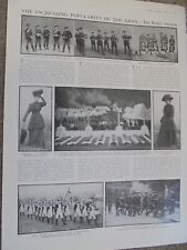 Article the increasing popularity of British army 1910 ref An