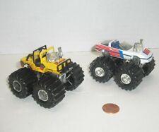 Matchbox Super Chargers Monster Truck Mud Monster Jeep & Corvette SC14 SC11