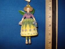 Fairy Ornament Garden With Bell DM68 127