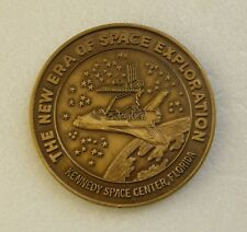 Medal Kennedy Space Center Florida November 1981 New Era Space Exploration