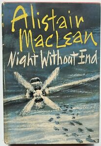 1960 1st NIght Without End by Alistair Maclean, FREE POST AUST