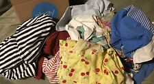 1 Box +++  5LBS OF RAGS -- USED CLOTHING   +++