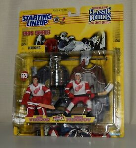 1998 CLASSIC DOUBLES 72029 - MIKE VERNON * SERGEI FEDOROV - NHL STANLEY CUP SLU